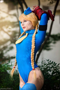 Jenna Lynn Cosplay as Cammy White