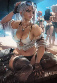 Ciri from Sakimi Chan