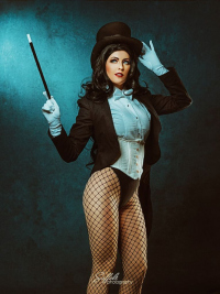 Maid Of Might Cosplay as Zatanna
