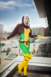 Sugar Blossom Cosplay as Rogue