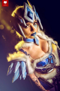Zalaria Cosplay as Glaceon/Valkyrie