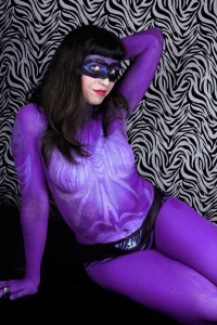 Duchess Silk as The Phantom
