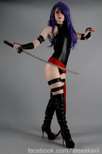 Alexa Karii as Psylocke