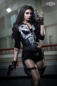 Little Wolff Cosplay as Punisher