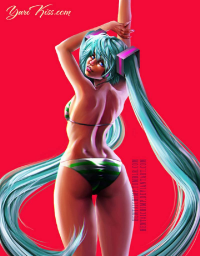Miku Hatsune from Hentaichimp