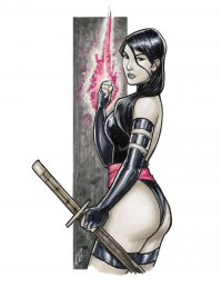Psylocke from Chris Butler