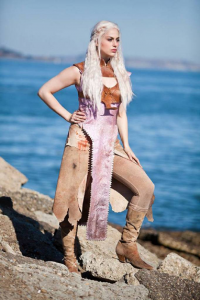 Meagan Marie as Daenerys Targaryen