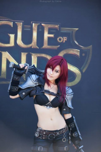 Tasha Cosplay as Katarina