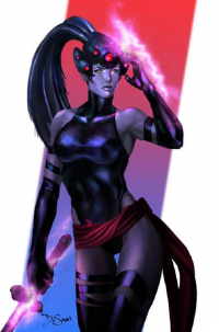 Psylocke/Widowmaker from Federico De Santi