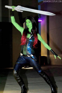 Sara Moni Cosplay as Gamora