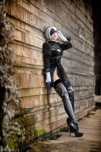 Unknown Female Artist as 2B