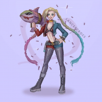 Harley Quinn/Jinx from lancercross