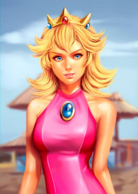 Princess Peach from Alan Campos