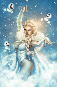 Elsa of Arendelle/Emma Frost from Elias Chatzoudis