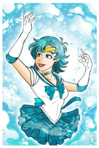 Sailor Mercury from David Uriarte