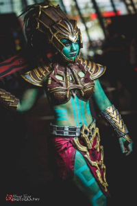 Yeliz Cosplay as Kotal Kahn