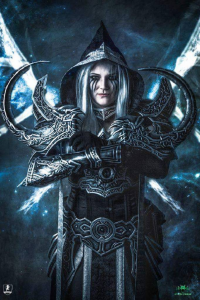 Thaja Cosplay as Malthael