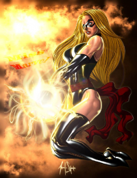 Ms. Marvel from Ace Of Spades