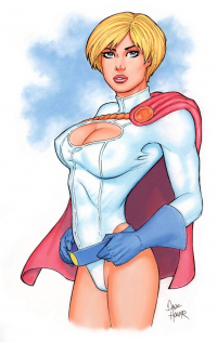 Power Girl from Dave Hoover
