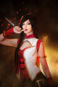 Shiroki Cosplay as Katarina