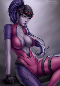 Widowmaker from Flowerxl
