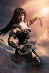 Datgermia as Xena