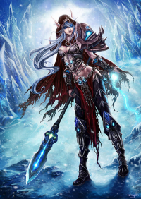 Sylvanas Windrunner from Unknown Artist
