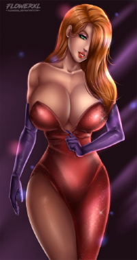 Jessica Rabbit from Flowerxl