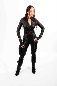 Amy Nicole as Black Widow