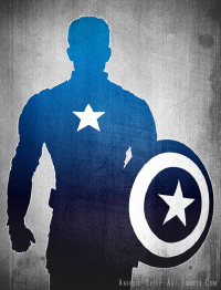 Captain America from Android-sheep