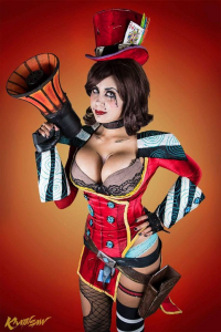 Khainsaw as Mad Moxxi