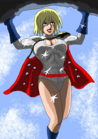 Power Girl from Adamantis