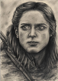 Ygritte from April-storm-art