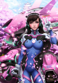 D.Va from Karn Kirk Ratanasin