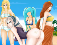 Diana, Leona, Sona, Janna from Shadako26