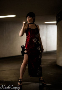 Kizaki Cosplay as Ada Wong