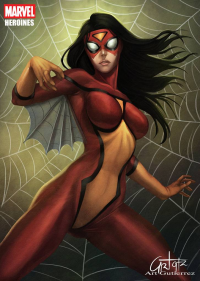 Spider-Woman from Arturo Z. Gutierrez