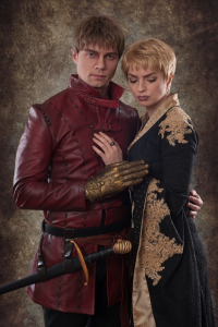 Ferasha Cosplay as Cersei Lannister