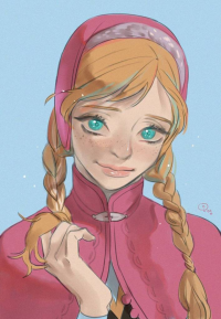 Anna of Arendelle from AZI / アジ