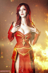 Unknown Female Artist as Lina