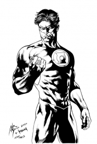 Green Lantern from Adriano Di Benedetto