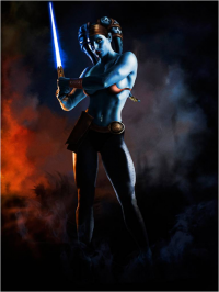 Aayla Secura from Scott Harben