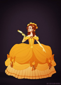 Belle from Claire Hummel