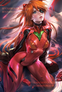 Asuka Langley Soryu from Sakimi Chan