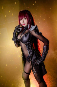 Kira O'Brien TW Cosplayer as Scathach