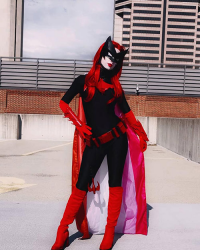 Odfel Cosplay as Batwoman