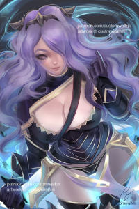 Camilla from Customwaifus