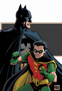 Batman, Robin from Mike Williams