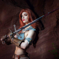 Brownie Nugget as Red Sonja