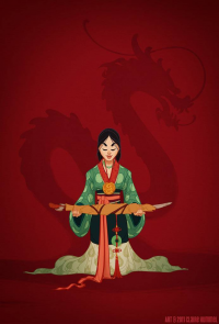 Mulan from Claire Hummel